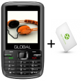 GLOBAL DMW7+ SIM CARD + 10 EUROS CREDIT